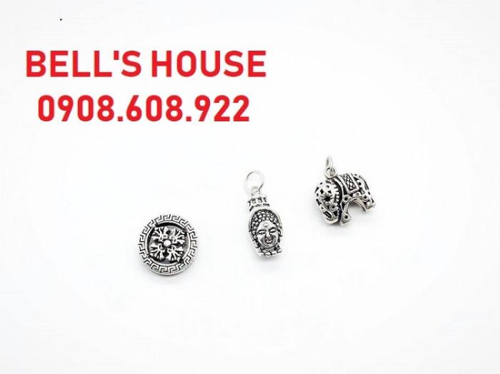 Charm Bạc 925 sỉ lẻ giá rẻ TPHCM, cung cấp giá sỉ toàn quốc Bells House Jewelry,0
