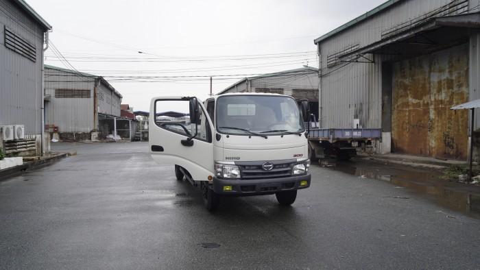 Xe tải Hino Dutro 342L thùng lửng 5 tấn, trả trước chỉ 100 triệu, giao xe ngay