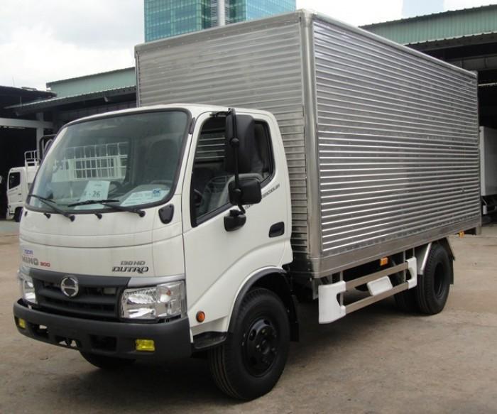 Xe tải Hino Dutro WU342L thùng kín inox 4.2 tấn, trả trước 100 triệu giao xe ngay 6