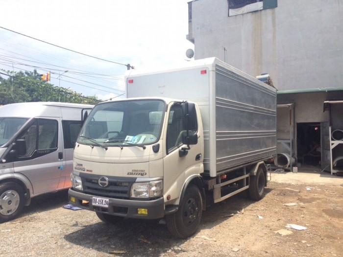 Xe tải Hino Dutro WU342L thùng kín inox 4.2 tấn, trả trước 100 triệu giao xe ngay 5
