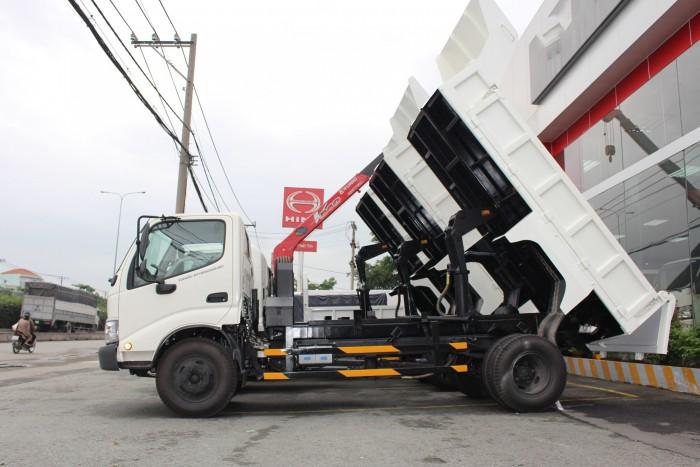 Xe ben Hino Dutro 3.5 tấn, trả trước 100 triệu giao xe ngay 4