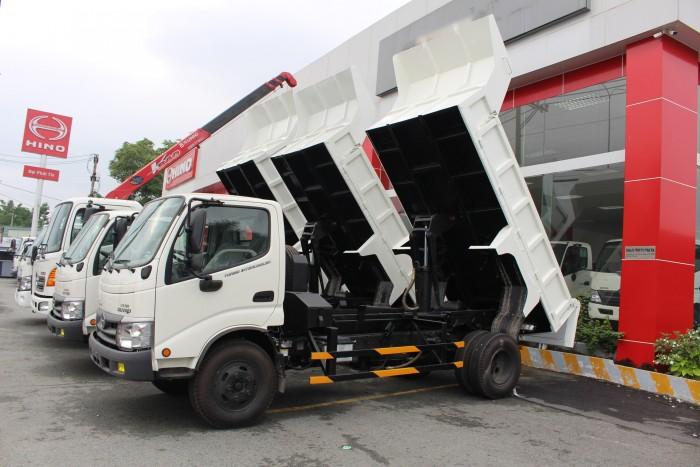 Xe ben Hino Dutro 3.5 tấn, trả trước 100 triệu giao xe ngay 1