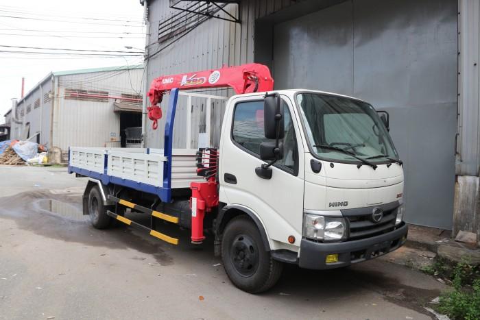 Giá Xe Tải Cẩu Hino Dutro Wu352L 3.5 Tấn Gắn Cẩu Unic 3 Tấn 4 Khúc - Gọi 0978015468 (MrGiang 24/24)