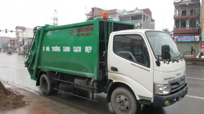 Giá Xe Tải Hino 5 Tấn Model Dutro Wu342L Cuốn Ép Rác - Gọi 0978015468 (MrGiang 24/24)