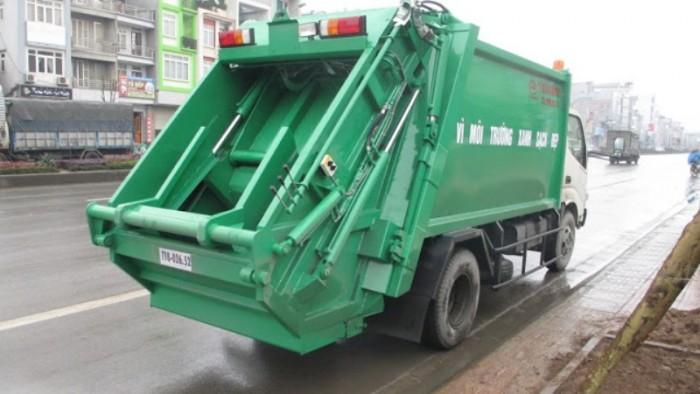 Xe Tải Hino 5 Tấn Model Dutro Wu342L Cuốn Ép Rác - Gọi 0978015468 (MrGiang 24/24)