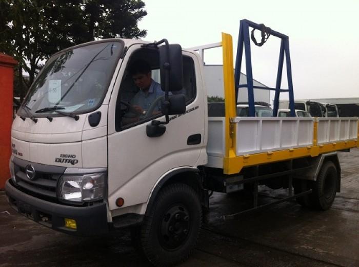Giá xe tải chở kính Hino Dutro WU342L 8.25 tấn, trả trước 100 triệu giao xe ngay - Gọi 0978015468 (MrGiang 24/24)
