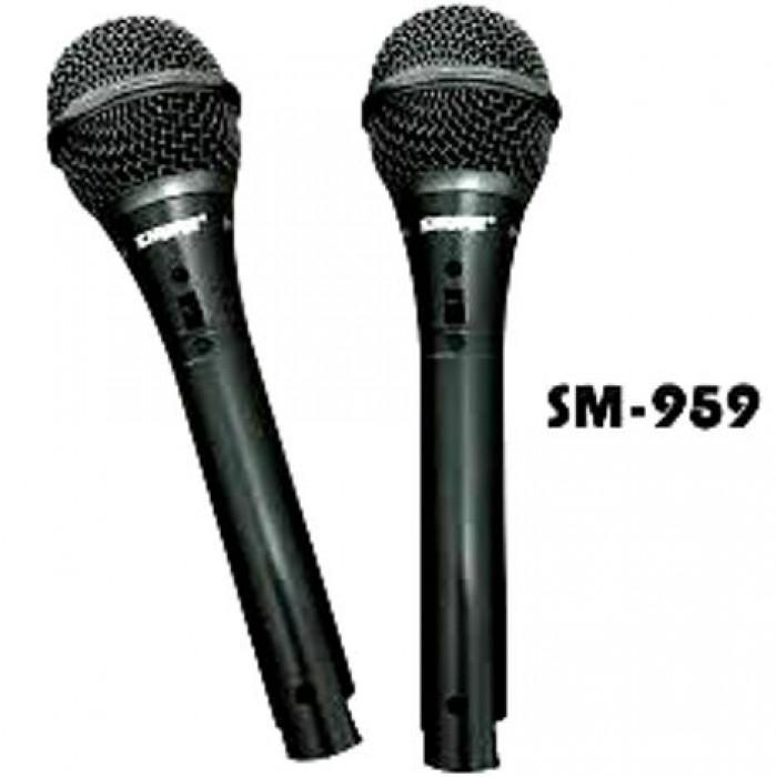 Micro Shupu SM 959 thiết kế đẹp với tay cầm hợp kim cùng với khả năng bắt míc tốt0