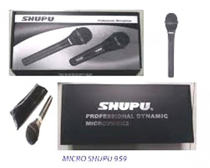 Micro Shupu SM 959 bán tại Điện Máy Hải giá chỉ có 350K, cam kết chính hãng 100%, bảo hành 12 tháng2