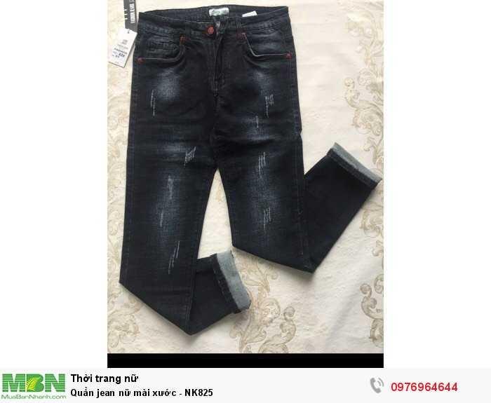 Nguồn hàng sỉ quần Jean nữ mài xước cho shop0