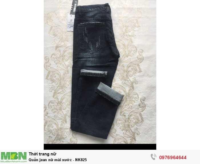 Bỏ sỉ quần Jean nữ mài xước số lượng lớn1