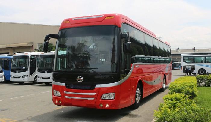 Xe khách Samco Primas 35 giường nằm - Động cơ Isuzu