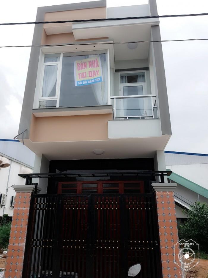 Nhà bán tọa lạc tại dự án 544  nền khu dân cư phát triển tân bình - dĩ an