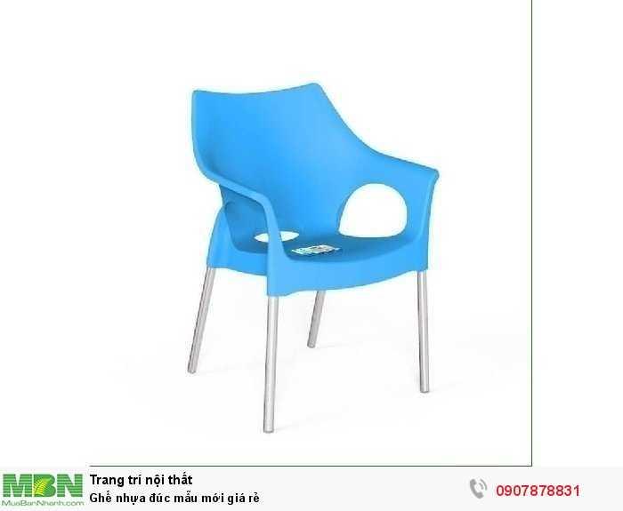 Ghế nhựa đúc mẫu mới giá rẻ1