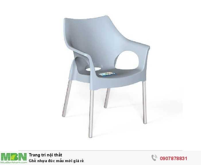 Ghế nhựa đúc mẫu mới giá rẻ3