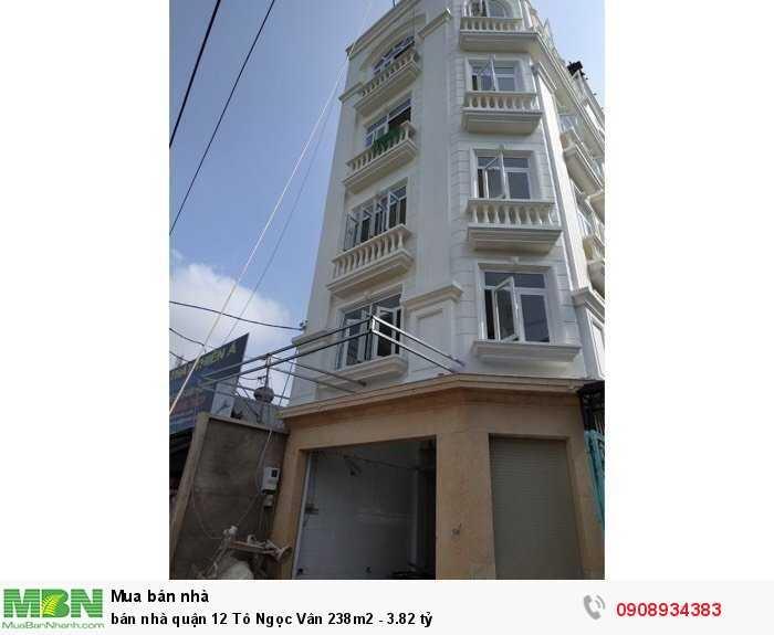 bán nhà quận 12 Tô Ngọc Vân 238m2