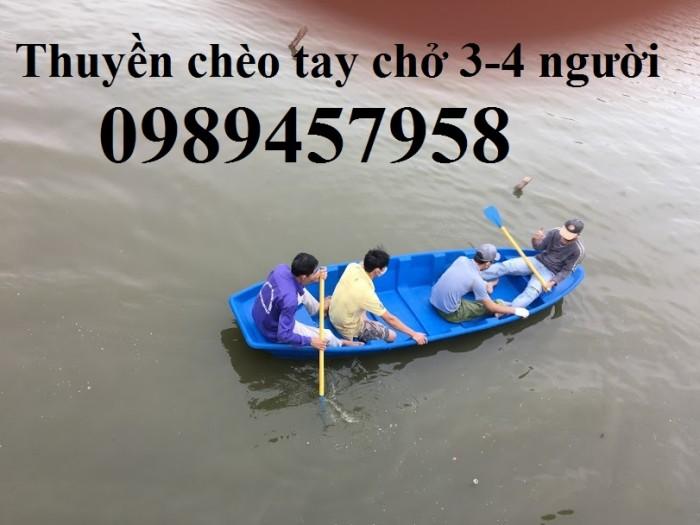 Thuyền câu cá chèo tay 3,2x0,9x0,36m, 4mx1,1x0,36m giá rẻ nhất Hà Nội mới 100%2