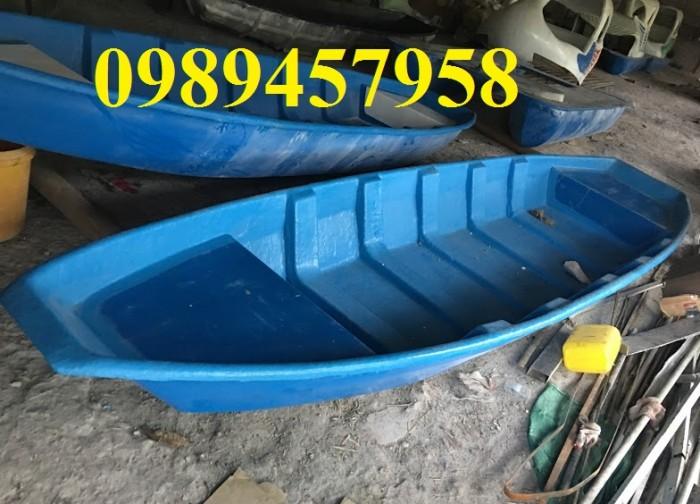 Thuyền câu cá chèo tay 3,2x0,9x0,36m, 4mx1,1x0,36m giá rẻ nhất Hà Nội mới 100%1