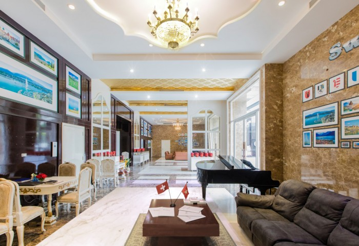 Căn hộ cao cấp cho thuê Leman Luxury Apartment trục đường Nguyễn Đình Chiểu 2Pn, giá chỉ 36tr/ tháng – LH Ms.Châu: 0939229329
