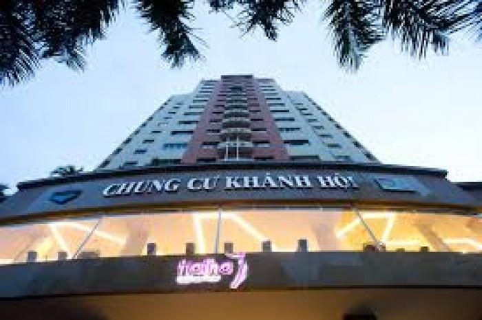 Cần bán gấp căn hộ chung cư Khánh Hội 1 Diện tích: 100m2,3 phòng ngủ, 2WC 3.1 tỷ có TL