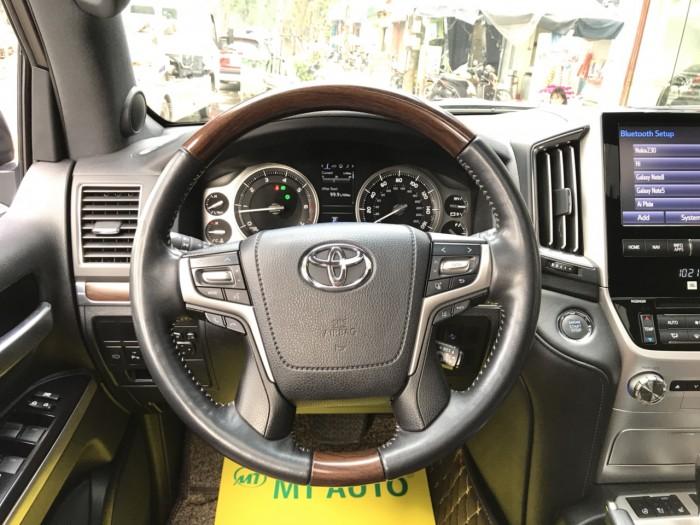 Bán Toyota Land Cruiser 5.7 sản xuất 2015, màu đen, xe nhập Mỹ 8
