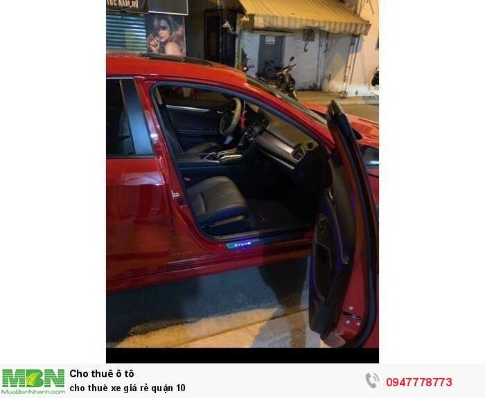 Cho thuê xe giá rẻ quận 10