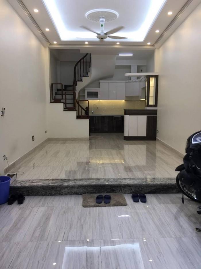 Bán nhà đẹp DT 48m2* 5 tầng MT 4.4m ngõ 24 Kim Đồng giá 4.4 tỷ