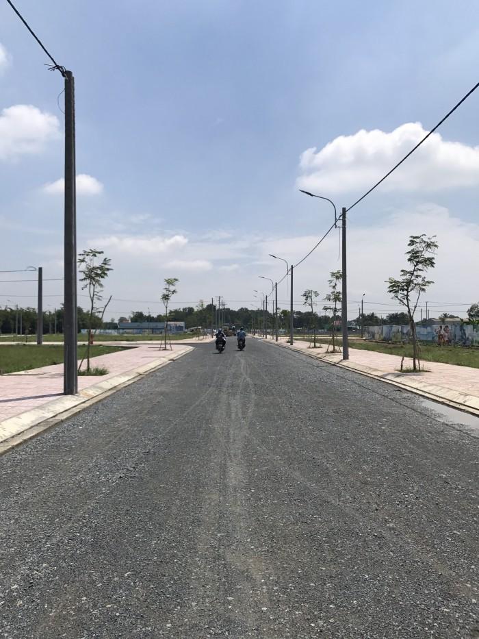 Đất ngay KCN Tây Sài Gòn, Bình Chánh mở bán