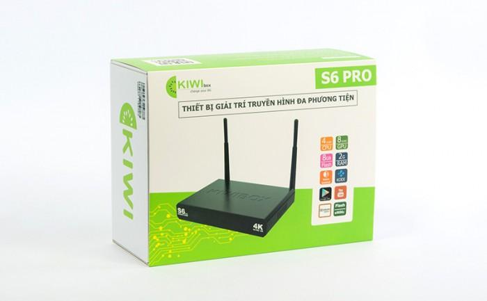 KIWIBOX S6 PRO – RAM 2GB hàng chính hãng 100%2