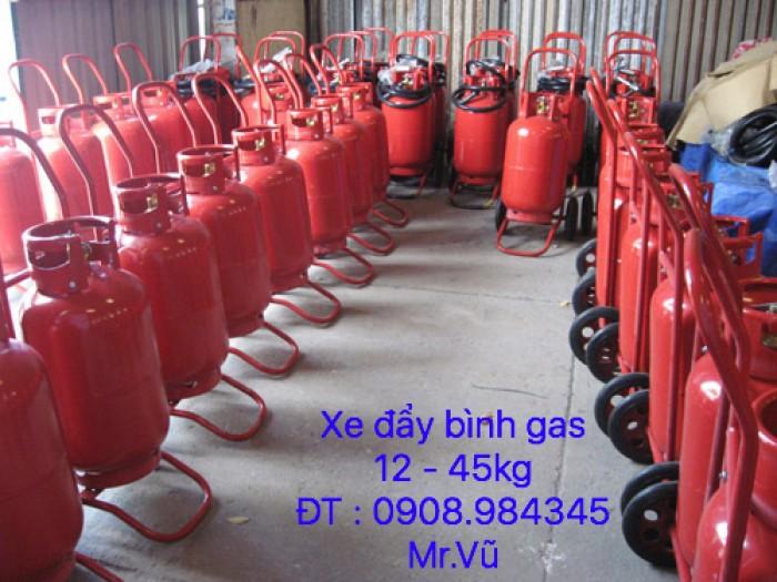 Xe đẩy bình khí gas 12 - 45 kg