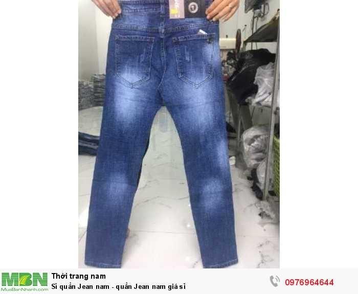 Sỉ quần Jean nam - quần Jean nam giá sỉ0