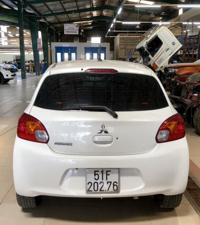 Mitshubishi Mirage số tự động, 2015, màu trắng, xe cá nhân