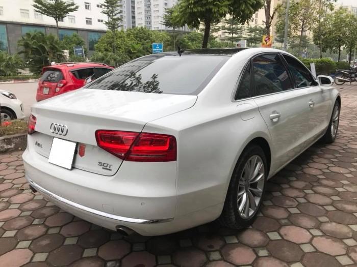 Bán xe Audi A8L 2011 màu trắng nhập khẩu một chủ đi hơn 8 vạn km 5
