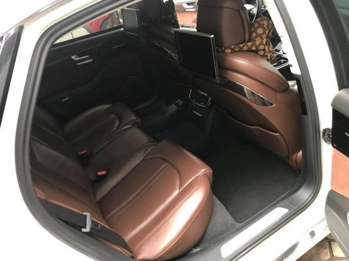 Bán xe Audi A8L 2011 màu trắng nhập khẩu một chủ đi hơn 8 vạn km 2