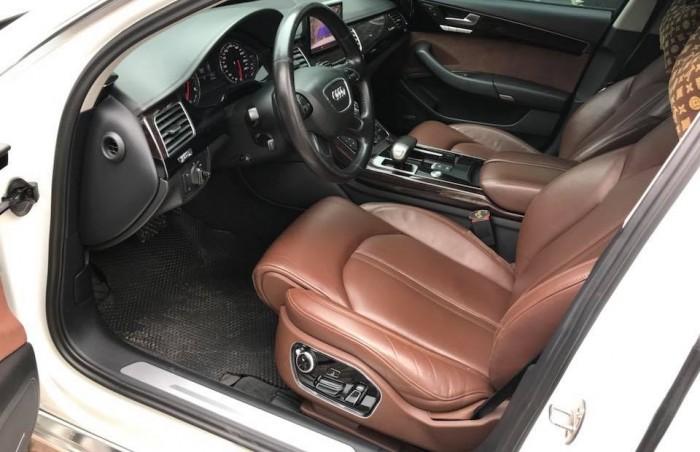 Bán xe Audi A8L 2011 màu trắng nhập khẩu một chủ đi hơn 8 vạn km 4