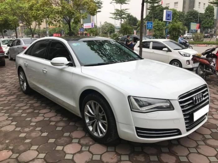 Bán xe Audi A8L 2011 màu trắng nhập khẩu một chủ đi hơn 8 vạn km 6