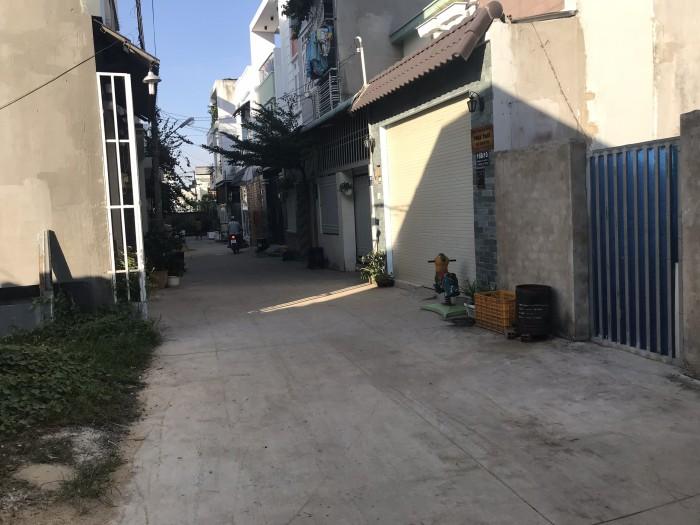 Bán nhà mặt tiền đường 32 Linh Đông, hxh, dt 51m2