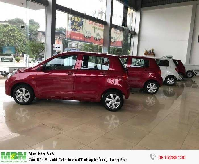 Cần Bán Suzuki Celerio đỏ AT nhập khẩu tại Lạng Sơn