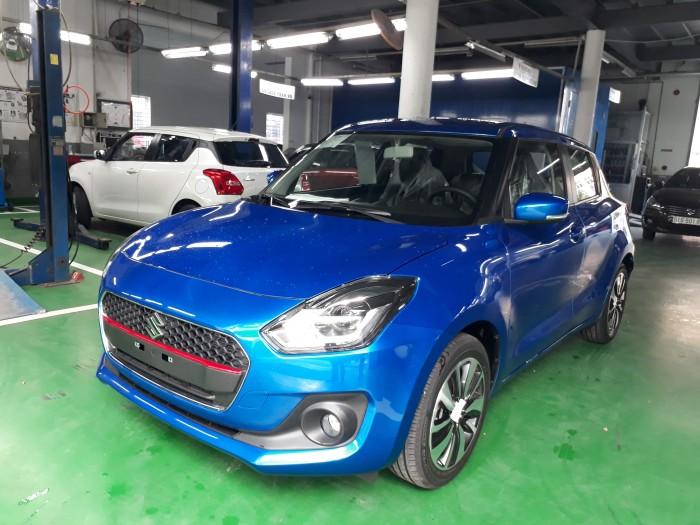 Suzuki New Swift 2018 phiên bản GLX màu xanh