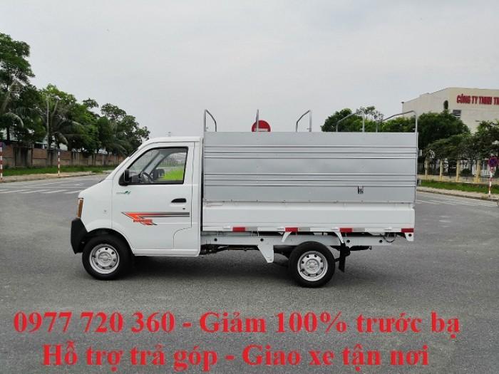 Xe tải nhỏ dưới 1 tấn 770kg/810kg/870kg thùng mui bạt