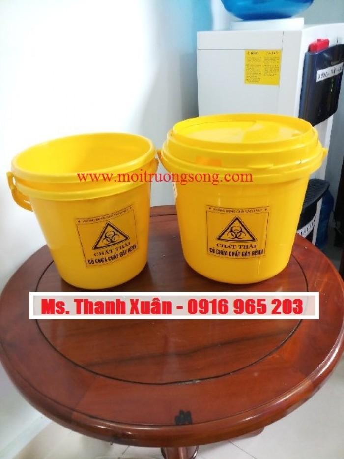 xô 5 lít đựng chất thải y tế có chứa chất gây bệnh1