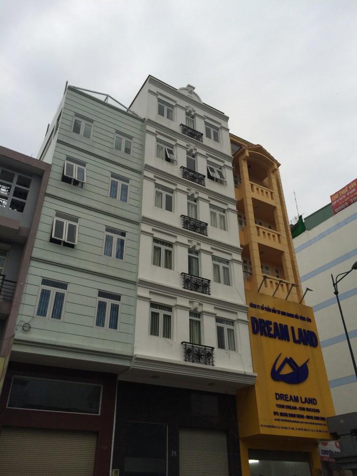 Bán nhà mặt tiền đường khu chợ Tân Bình, Q.Tân Bình 100m2, 6 tầng