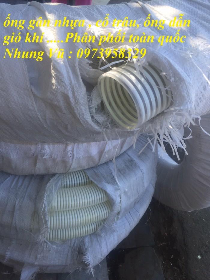 Ống cố trâu gân nhựa xanh / trắng Phi 300, 250, 200,220,168. 140,150, 100, 120,90,80,60,50,40,34,27,21