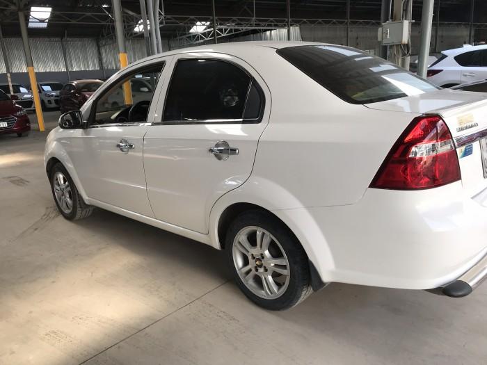 Bán Chevrolet Aveo LT 1.5MT màu trắng số sàn sản xuất 2014 biển Sài Gòn đi 83000km