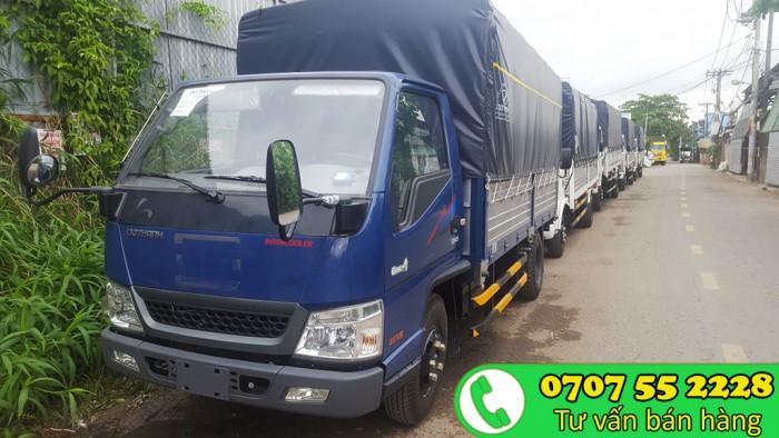 Xe tải Đô thành IZ65 2T4 | Xe tải thùng dài 4m3 vào thành phố