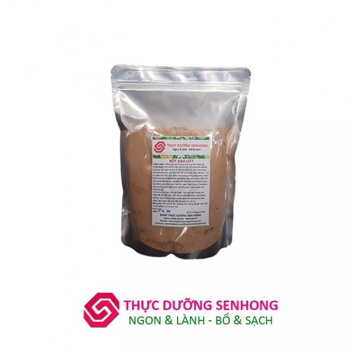 Bột gạo lứt đỏ (1Kg) Thực dưỡng Sen Hồng