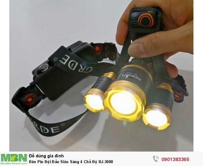 Đèn có tổng cộng 3 bóng với nhiều chế độ chiếu sáng khác nhau. Ngoài ra, bạn...