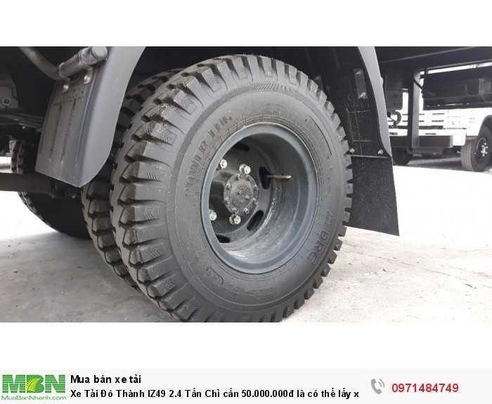 Xe Tải Đô Thành IZ49 2.4 Tấn Chỉ cần 50.000.000đ là có thể lấy xe tặng ngay tỳ hưu vàng tài lộc