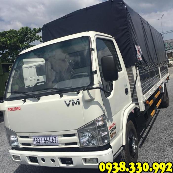 Hái lộc đầu xuân cùng xe tải Isuzu VM 1.9 tấn thùng dài 6m2 nhận ngay chỉ vàng SJC