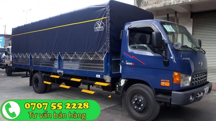 Xe tải Đô Thành HD120SL 8 tấn vay cao| Hyundai 8 tấn thùng dài 6m3
