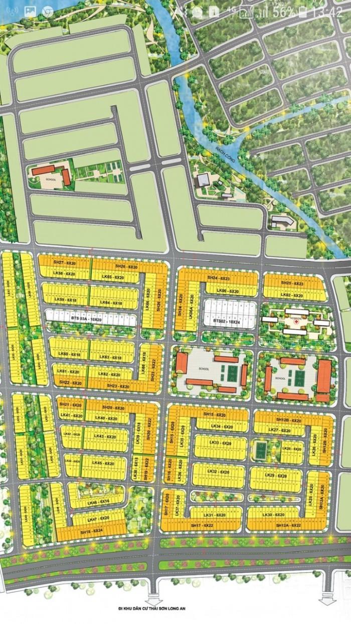 Chính thức mở bán 267 heta T&T Long Hậu, giá từ 9.3tr - 14.5tr/m2, 5x18m, 5x20m.